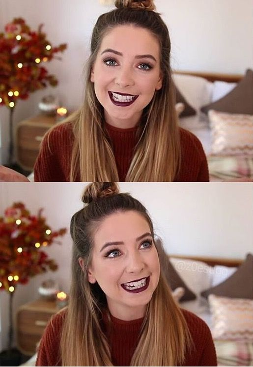 Autumn makeup look - zoella
