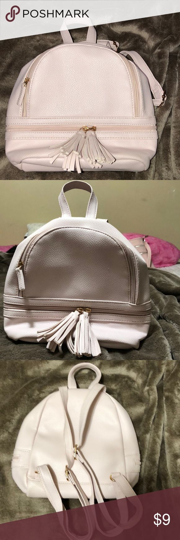 RUE21 light pink backpack/purse RUE21 light pink small backpack. I used it for Vegas :)  Only used for 4 days. Rue 21 Bags Mini Bags