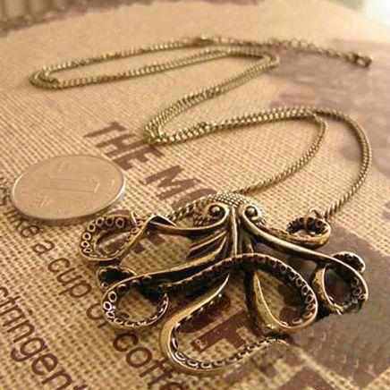 Винтажный морская звезда ожерелье античная латунь морская звезда N2119 купить на…