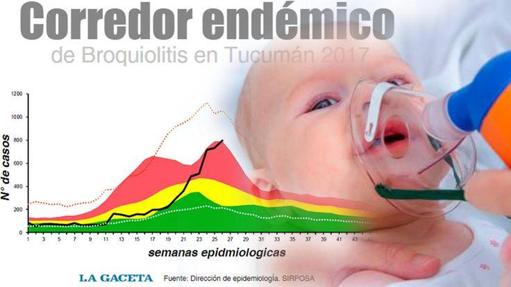 #Epidemia de bronquiolitis: se registró un máximo histórico de internaciones en la provincia - La Gaceta Tucumán: La Gaceta Tucumán…