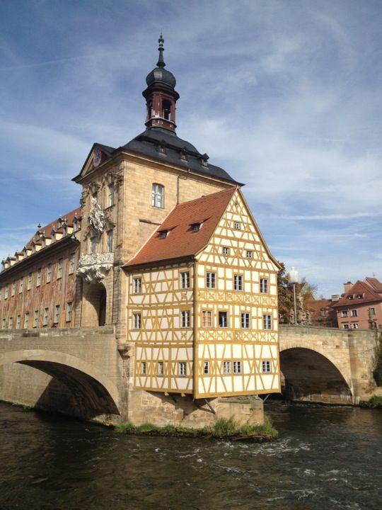 Bamberg i Bayern