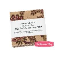 Mill Book Series Circa 1892 Collections for a Cause MINI Charm PackHoward Marcus for Moda Fabrics