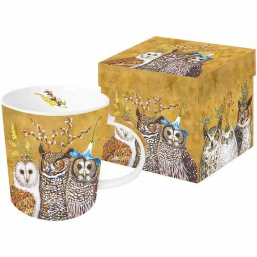 Owl Family Gift Boxed Mug | Paperproducts Design Store