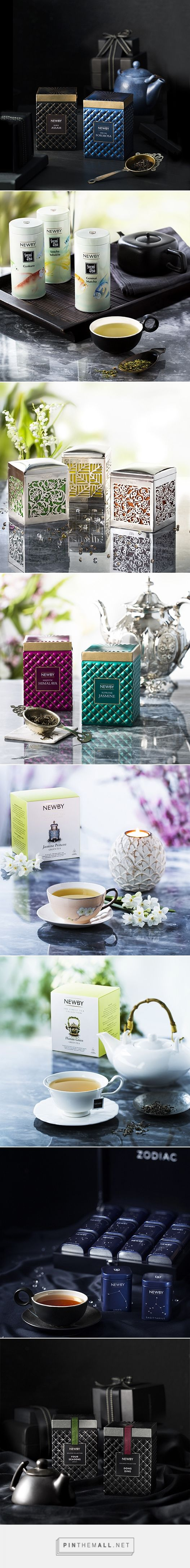 Newby Teas | Photography by Issy Oakes | Packaging Designed by Newby Teas In-house Design Team | The Zodiac Collection Won Silver Pentaward 2015
