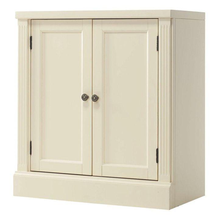 Home Decorators Collection Edinburgh Ivory Storage Cabinet