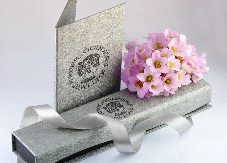 There is a great joy in giving... If you think of a present for someone special to you - our jewelry is packed in an elegant box with the logo of Greek Goddess Jewelry - ready to give to its recipient. To make it even more special - we can also add an elegant card with a handwritten message from you to the recipient :)