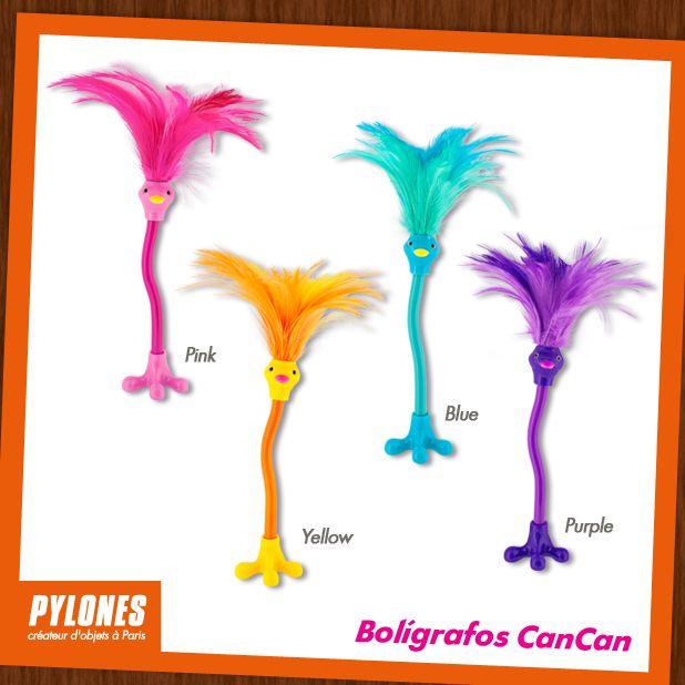 Bolígrafos cancan. @pylonesco #pylonesco