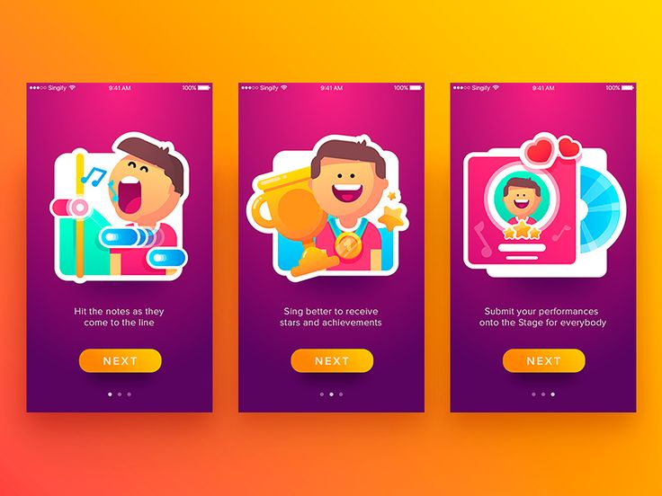 Hi mates!  Let me share a new shot with you. This time I would like to show you a tutorial I accomplished here in Tubik Studio for the project called Singify. It is a music app allowing users to si...