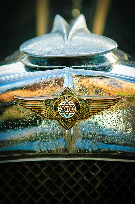 1929 Dodge Sedan Hood Emblem 2