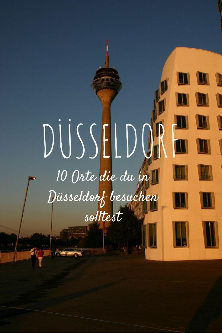 Follow me around - 10 Orte die du in Düsseldorf besuchen solltest