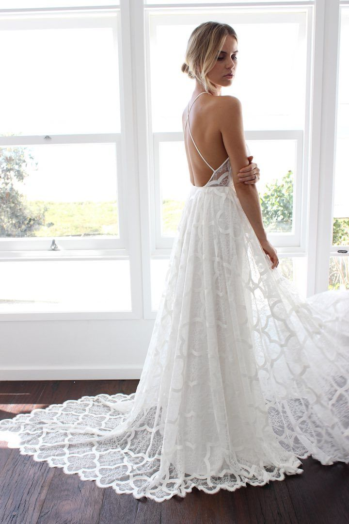GRACE LOVES LACE wedding dress collection with timeless sophistication.
