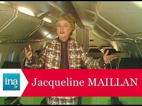 """Jacqueline Maillan, Michel Roux et Roger Carel """"Le train d'atterrissage""""- Archive INA - YouTube"""