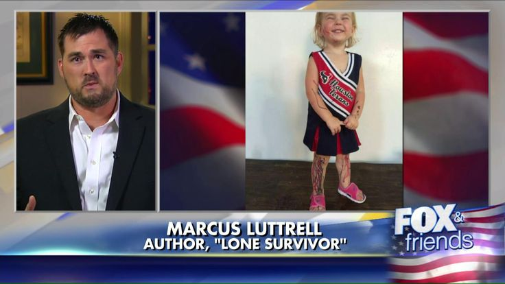 """Marcus Luttrell - a former Navy SEAL and author of the best-selling book """"Lone Survivor,"""" which was adapted into a hit movie starting Mark Wahlberg - wrote an epic Facebook post on Wednesday, outlining just what he will do when his little girl grows up and begins to date."""