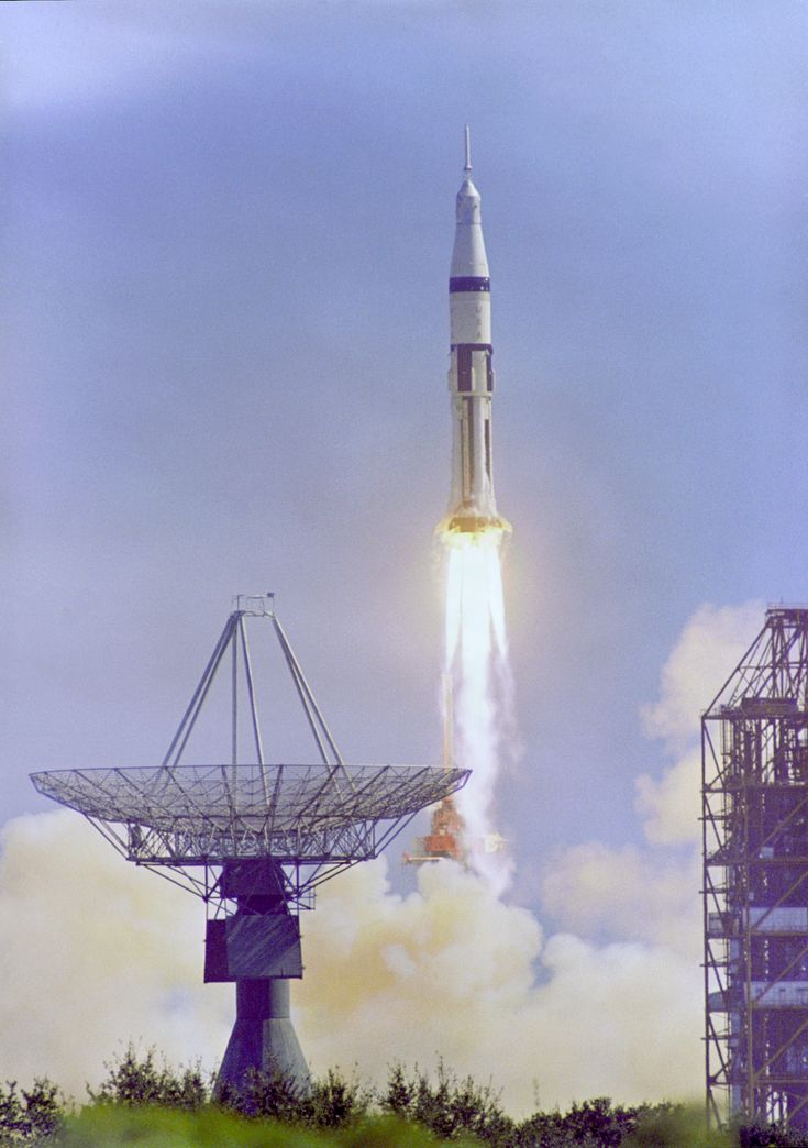Apollo 7 Launches on October 11 1968