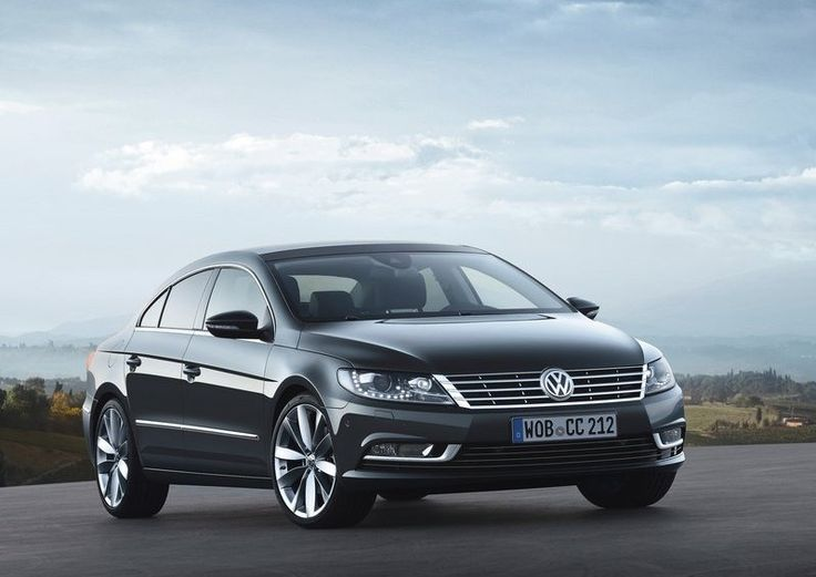 2015 VW CC Front View