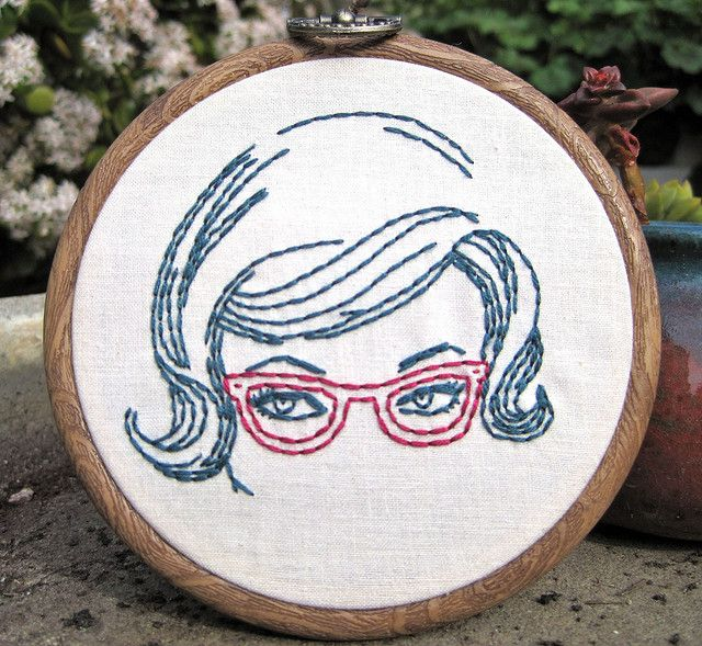 I love this embroidery hoop