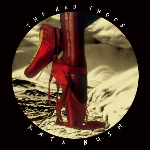 Kate Bush, The Red Shoes, 1993. An absolutely stunning cover for a disappointing album & later, a short-ish film, The Line, the Cross & the Curve, directed by Bush, starring Miranda Richardson. Released well into the age of CDs, the illustration is hardly known.