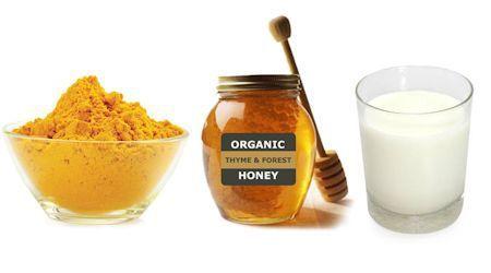 Mascarilla facial con cúrcuma y miel de abeja - Ingredientes
