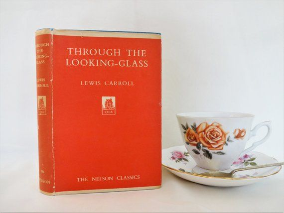 Through The Looking Glass And What Alice Found There By Lewis Etsy Through The Looking Glass Glass Book Thomas Nelson
