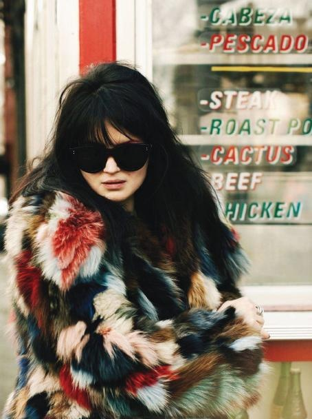 alison mosshart, the kills - what a jacket