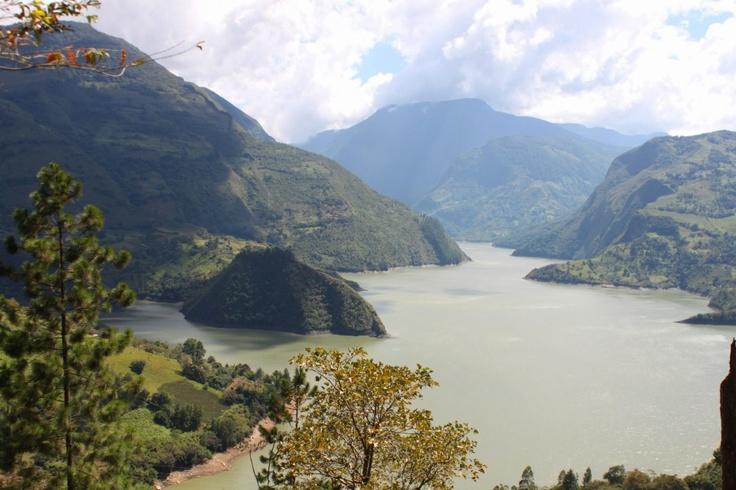 Landscape Colombia..