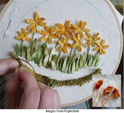 Stumpwork · Needlework News | CraftGossip.com
