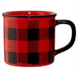 Buffalo Check Camp Mug by Indigo   Novelty Mugs Gifts   chapters.indigo.ca