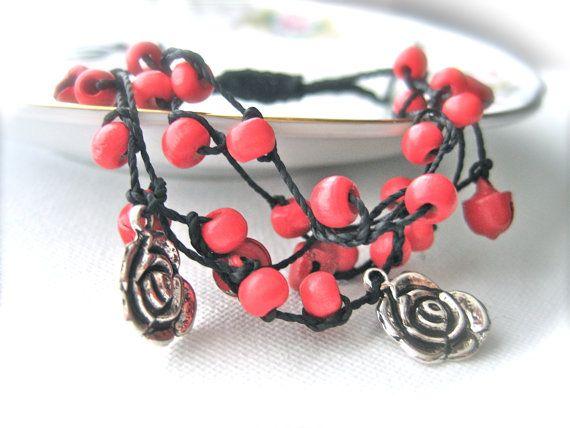 Macrame bracelet friendship bracelet friendship by Monikagifts