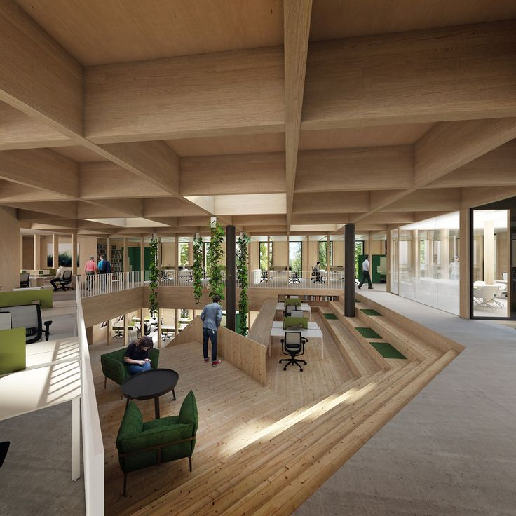 Gallery of Landscape and Building Merge in New Czech Forestry Commission Centre - 6