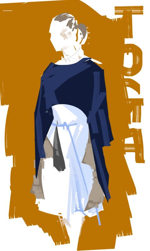 Toga AW14 - by illustrator David Andrews for XXY Magazine