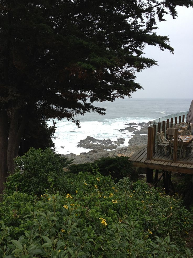 View from Pablo Neruda's House in Isla Negra, Chile
