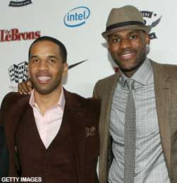 """LeBron Goes Home: LeBron James officially signed a two-year $42.1M deal with the Cavaliers, with the """"goal of re-signing with the Cavs"""" before the '16-17' season. LeBron James (r) and his long-time friend, Maverick Carter (l) have recently signed to executive produce with others on the upcoming Starz TV Series this fall, """"Survivor's Remorse.""""  They aim to restore their hometown's image.  - SportsBusiness Daily   SportsBusiness Journal   SportsBusiness Daily Global:"""