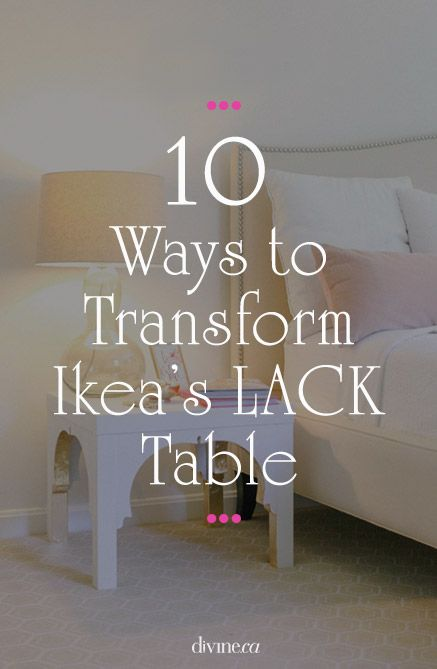 Diy check out these 10 great ways to transform ikea 39 s for Transform ikea furniture