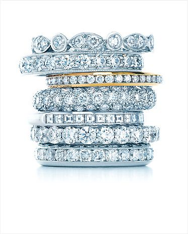 I think these are antique wedding rings ...not engagement haha. Jewelry, Tiffany