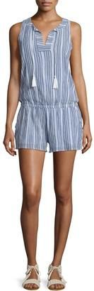 Soft Joie Callisto Sleeveless Striped Romper, Peacoat - Shop for women's Romper - PEACOAT Romper