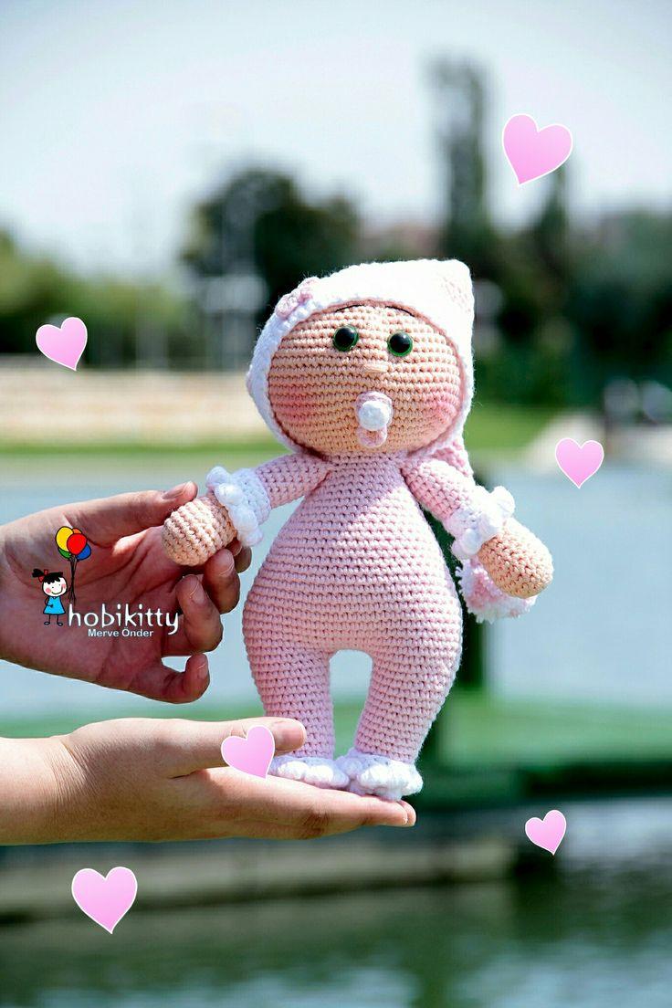 Amigurumi örgü bebek