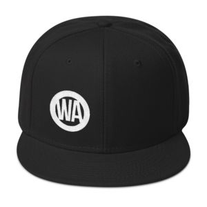 wheel and axle simple logo hat positive wheelchair wheels clothing line