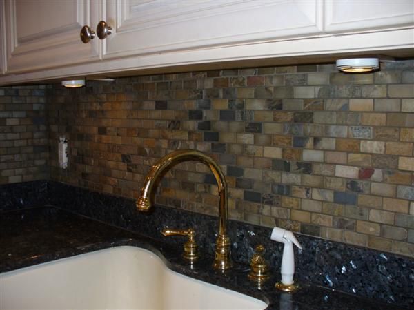 3 Ideas To Create Stone Kitchen Backsplash