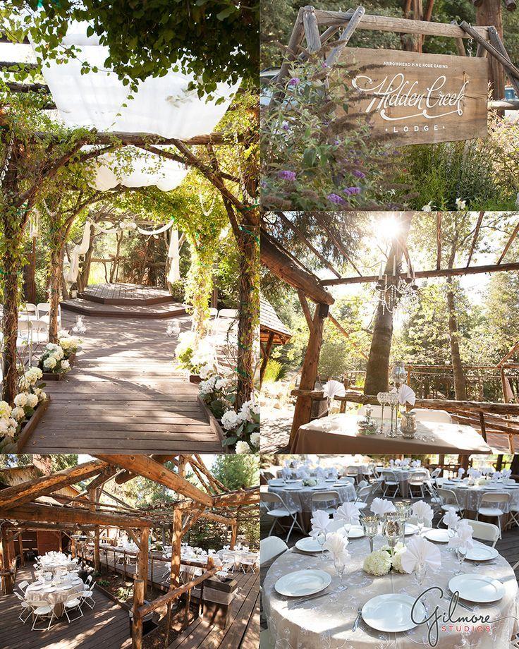 backyard wedding venues in orange county ca%0A Wedding at the Hidden Creek Lodge at Arrowhead Pine Rose Cabins in Twin  Peaks  CA  u     Lake Arrowhead Photographer