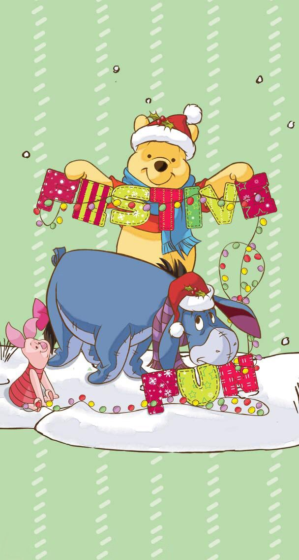 Pooh Bear - Festive Fun with Pooh, Piglet and Eeyore