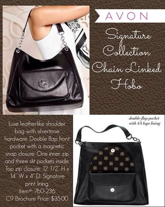 Signature collection chain linked hobo. visit www.youravon.com/tcorder