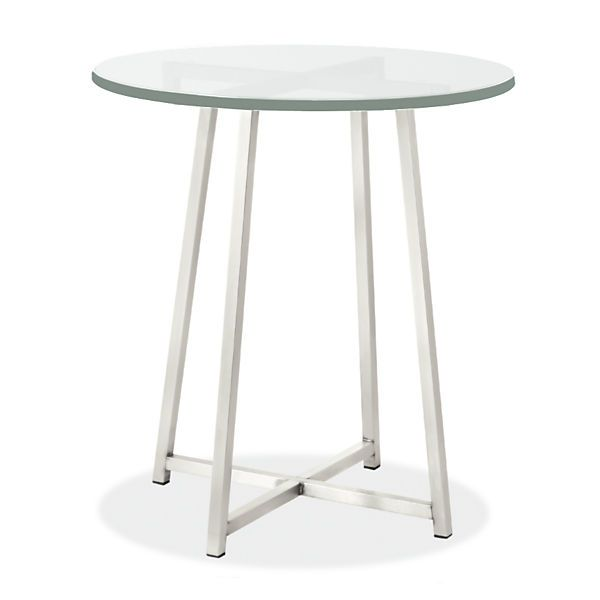Room U0026 Board   Slope 18 Diam 20h Round Outdoor End Table