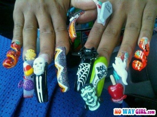 ghetto nails ideas