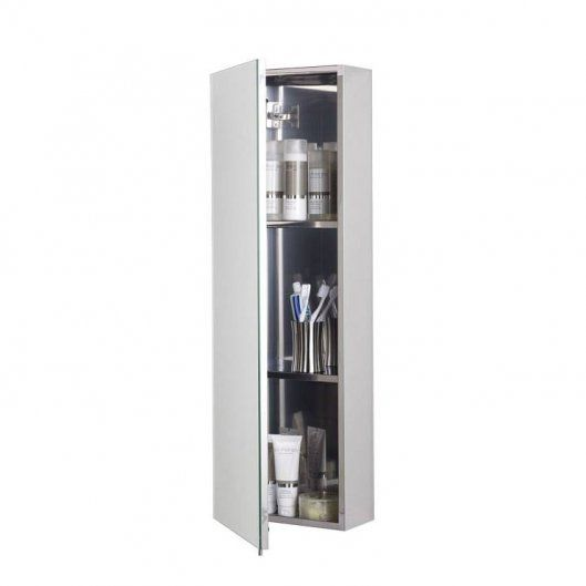 Zenith Stainless Steel Tall Bathroom Cabinet - Fast Delivery, Will Not Be  Beaten on Price. Call Bella Bathrooms on 0191 303 7771