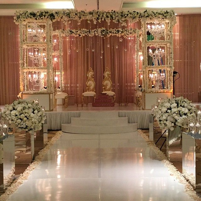 Beautiful Mandap By Our Prashe Houston At Sugarlandmarriott Earlier Today