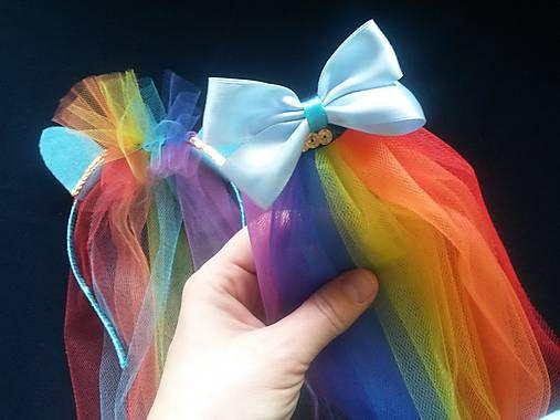 mironella / chvostík Rainbow Dash