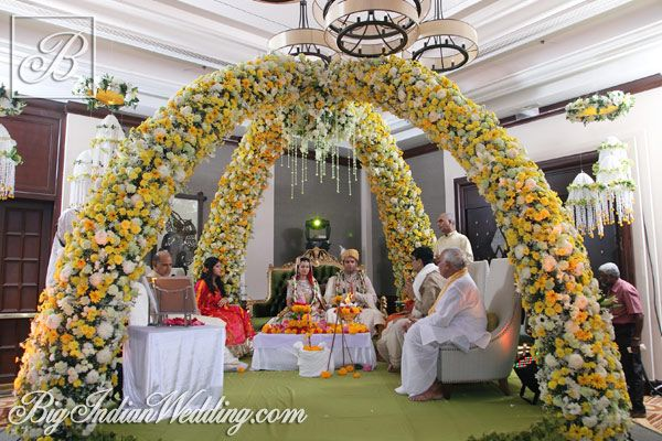 Spectrum Events floral #mandap decoration