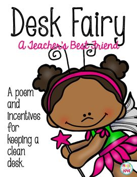 This freebie includes a poem and coupons to encourage students to keep their desks clean!