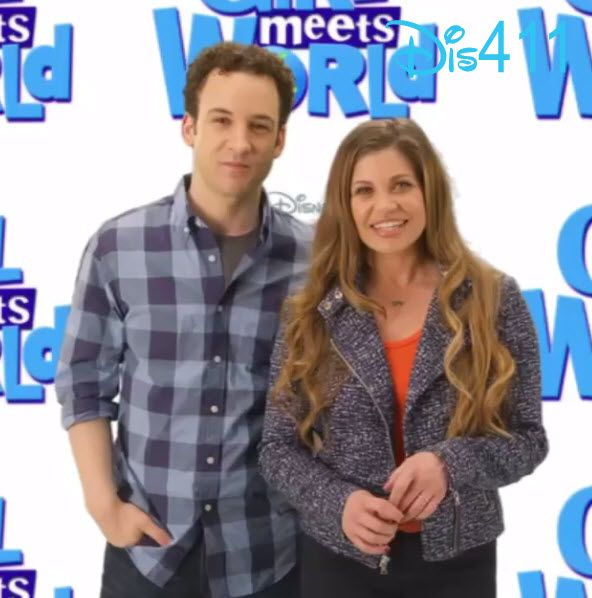 Video: Danielle Fishel With Ben Savage & She Talked About Her Favorite Walt Disney World Memory