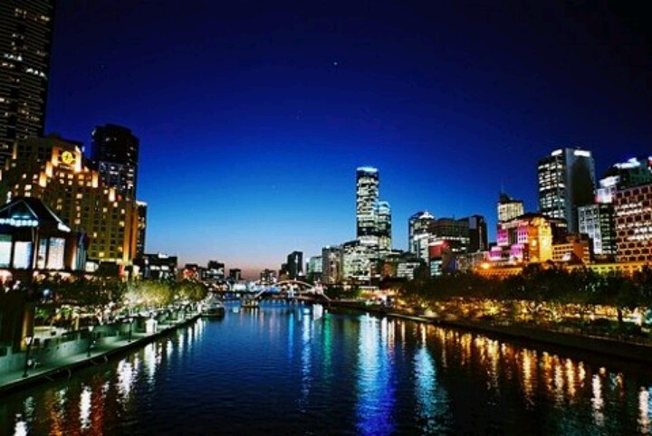 Southbank Melbourne. Worlds most liveable city.